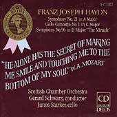 Haydn: Symphonies 21 & 96, Cello Concerto / Schwarz, Starker
