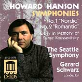 Hanson: Symphonies 1 & 2, etc / Schwarz, Seattle Symphony