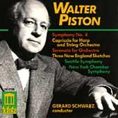 Piston: Symphony no 4, etc / Schwarz, Seattle Symphony