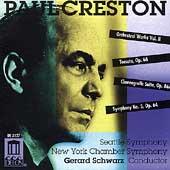 Creston: Orchestral Works Vol 2 / Gerard Schwarz