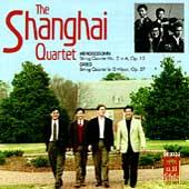 The Shanghai String Quartet - Mendelssohn & Grieg