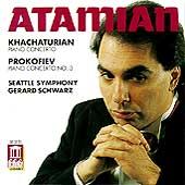 Khachaturian, Prokofiev: Piano Concertos / Atamian, Schwarz