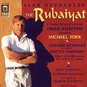 Hovhaness: The Rubaiyat / York, Schwarz, Seattle Symphony