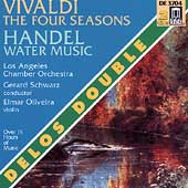 Vivaldi: The Four Seasons;  Handel: Water Music / Schwarz