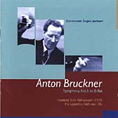 Bruckner: Symphony no 5 / Jochum, Hamburg State Philharmonic