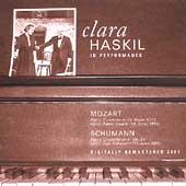 Clara Haskil in Performance - Mozart, Schumann