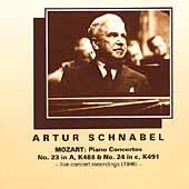 Mozart: Piano Concertos no 23 & 24 / Artur Schnabel, et al