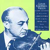 Merit -Louis Kaufman -Historic Recordings of American Works