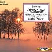 Brahms: Symphony no 4, etc / Haenchen, Netherlands PO