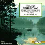 Bruckner: Symphony no 3 / Hartmut Haenchen, Netherlands PO