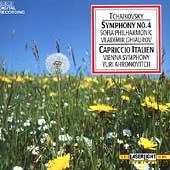 Tchaikovsky: Symphony no 4, Capriccio Italien / Ahronovitch