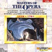 Masters Of The Opera Vol 2 (1772-1791)