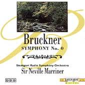 Bruckner: Symphony no 0, etc / Marriner, Stuttgart RSO