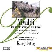 Vivaldi: Flute Concertos / Gyoengyoessy, Botvay