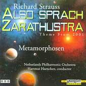 Strauss: Also Sprach Zarathustra, Metamorphosen / Haenchen