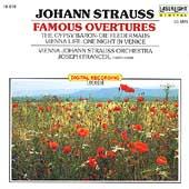 Johann Strauss: Famous Overtures / Joseph Francek