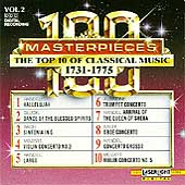 100 Masterpieces Vol 2 - Top 10 of Classical Music 1731-1775