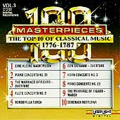 100 Masterpieces Vol 3 - Top 10 of Classical Music 1776-1787
