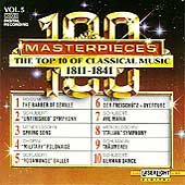 100 Masterpieces Vol 5 - Top 10 of Classical Music 1811-1841