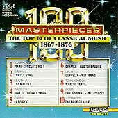 100 Masterpieces Vol 8 - Top 10 of Classical Music 1867-1876