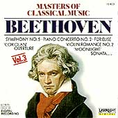 Masters of Classical Music Vol 3 - Beethoven