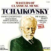 Masters of Classical Music Vol 6 - Tchaikovsky
