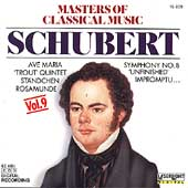 Masters of Classical Music Vol 9 - Schubert