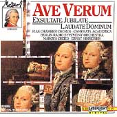 Mozart: Ave Verum, Exsultate Jubilate / Creed, Hinreiner