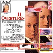A Little Night Music - Mozart: 11 Overtures