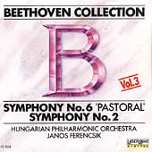Beethoven Collection Vol 3- Symphony no 6 & 2 / Ferencsik