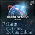 Orchestral Spectaculars featuring The Planets, etc