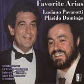 Favorite Arias - Luciano Pavarotti, Placido Domingo
