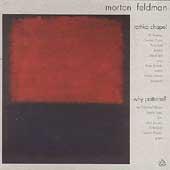 Feldman: Rothko Chapel, Why Patterns?