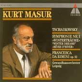 Tchaikovsky: Symphony no 1, etc / Masur, Gewandhausorchester