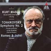 Tchaikovsky: Symphony no 2, Romeo & Juliet / Masur, Leipzig