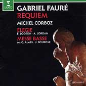 Faure:Requiem, Elegie, Messe Basse / Michel Corboz, et al
