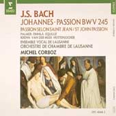 Bach: Johannes-Passion / Corboz, Palmer, Finnilae, et al