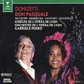 Donizetti: Don Pasquale / Ferro, Bacquier, Hendricks