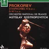 Prokofiev: Symphonies 1 & 6 / Rostropovitch