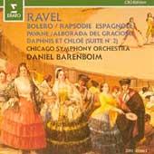 Ravel: Bolero, Rapsodie Espagnole / Barenboim, Chicago SO