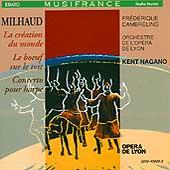 Milhaud: La boeuf sur le toit, etc / Nagano, Opera de Lyon