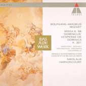 """Mozart: Missa """"Dominicus"""" / Harnoncourt, Concentus Musicus"""