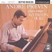 Plays Songs By Vernon Duke