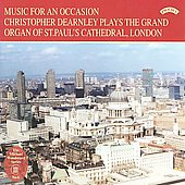 Music for an Occasion -The Grand Organ of St Paul's Cathedral :R.V.Williams/Purcell/J.Clarke/etc (1980):Christopher Dearnley(org)