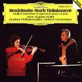 Bruch: Violin Concerto Op.26; Mendelssohn: Violin Concerto Op.64 / Anne-Sophie Mutter(vn), Herbert von Karajan(cond), BPO
