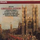 Handel: Coronation Anthems, etc / Marriner, ASMF & Chorus