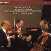 """Beethoven: Piano Trios """"Archduke"""" & """"Ghost""""/ Beaux Arts Trio"""