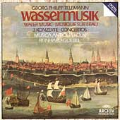 Telemann: Water Music, etc / Reinhard Goebel, Musica Antiqua Koln
