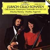 ミッシャ・マイスキー/J.S.Bach: Cello Sonatas BWV.1027-BWV.1029 / Mischa Maisky(vc), Martha Argerich(p) [4154712]