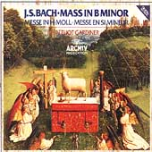 J.S.Bach: Mass In B Minor BWV.232 (2/1985) / John Eliot Gardiner(cond), English Baroque Soloists, etc